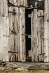 Close Up of Door on Old Weathered Barn, Canterbury, CT