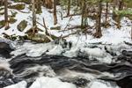 Scott Brook in Winter, Fitzwilliam, NH