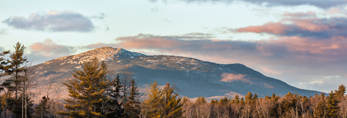 Sunset at Mount Monadnock, View from Fitzwilliam, NH