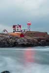 Predawn at Nubble Light, (Cape Neddick Lighthouse), Cape Neddick, York, ME