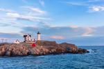 Late Evening at Nubble Light, (Cape Neddick Lighthouse), Cape Neddick, York, ME