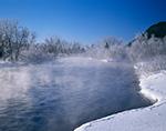 Magalloway River at 13 Degrees below Zero