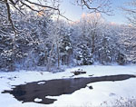 Millers River after Snowstorm
