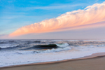 Surf at Sunrise at South Beach, Martha's Vineyard, Edgartown, MA