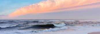 Surf at Sunrise at South Beach, Martha's Vineyard, Edgartown, MA