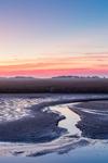 Predawn over Wetlands at St. Marks National Wildlife Refuge, Gulf Coast, Florida Panhandle, Wakulla County, St. Marks, FL