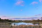 Sunset at Greenhead Pond in Harris Neck National Wildlife Refuge, South Newport, GA