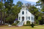 First Presbyterian Church of St. Marys, Established 1808, (Second Oldest Church in Georgia), Historic District, St. Marys, GA