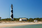Cape Lookout Light Station, Cape Lookout National Seashore, Core Banks, Carteret County, NC