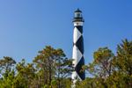 Cape Lookout Light Station, Cape Lookout National Seashore, Core Banks, Carteret County, NC