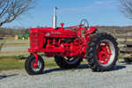 Antique McCormick-Farmall Tractor, Model Super M-TA, Torque Amplifier, Morris Farm, Barco, NC