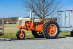 Antique Case 500 Diesel Tractor at Morris Farm, Barco, NC