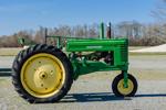 Antique John Deere Tractor, Model A, Morris Farm, Barco, NC