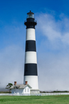 Lifting Fog at Bodie Island Lighthouse, Cape Hatteras National Seashore, Outer Banks, Bodie Island, NC