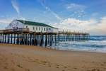 Kitty Hawk Pier in Early Morning, Outer Banks, Kitty Hawk, NC