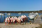 Conch Traps and Buoys at Lake Tashmoo, Martha's Vineyard, Tisbury, MA