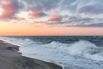 Surf at Sunrise on South Beach, Martha's Vineyard, Edgartown, MA