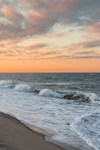 Surf at Sunrise on South Beach, Martha's Vineyard, Edgartown, MA