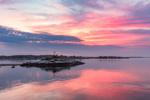 Sunrise Reflections at Ram Island, Fishers Island Sound, Stonington, CT