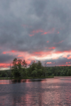 Sunrise at Harvard Pond, Petersham, MA