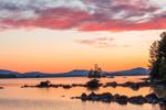 Sunrise on Millinocket Lake, Penobscot County,T1R8 WELS, ME