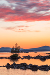 Sunrise on Millinocket Lake, Penobscot County, T1R8 WELS, ME