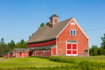 Old Red Barn (1920) at Atco Farms, Milo, ME