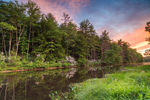 Millers River at Sunset, Birch Hill Recreation and Wildlife Management Area, Royalston, MA