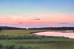 Sunrise over Hubbard Creek and Salt Marshes, Hubbard County Park, Long Island, Southampton, NY