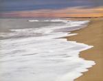 Surf and Shoreline, Cape Poge/Wasque Wildlife Refuge on Chappaquiddick Island, Martha's Vineyard, Edgartown, MA