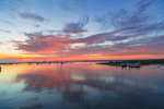 Sunrise at Edgartown Harbor, Martha's Vineyard, Edgartown, MA
