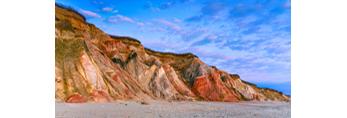 Colorful Gay Head Cliffs, Martha's Vineyard, Aquinnah, MA