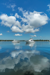 Cloud Reflections in Calm Waters of West Neck Harbor, West Neck, Shelter Island, NY