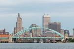 City of Providence Skyline, View from Providence River, Providence, RI