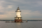 Conimicut Point Light, Narragansett Bay and Providence River, Warwick, RI