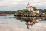 Pomham Rocks Lighthouse, Built 1871, Providence River, East Providence, RI