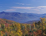 View of White Mountains from Rt. 118