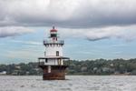 Hog Island Shoal Lighthouse, Narragansett Bay, Portsmouth,  RI
