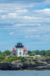 The Lighthouse on High Hill Point, Sakonnet River, Tiverton, RI