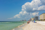 Biltmore Beach on Gulf of Mexico, Gulf Coast, Florida Panhandle, Panama City Beach, FL