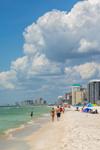 Biltmore Beach on Gulf of Mexico, Gulf Coast, Florida Panhandle, Panama City Beach, FL