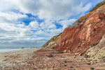 Red Clay Cliffs at Moshup Beach, Martha's Vineyard, Aquinnah, MA