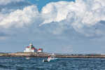 Thunderhead Clouds over Watch Hill Lighthouse, Block Island Sound, Watch Hill, Westerly, RI