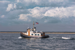 Tugboat-style Cruiser in Watch Hill Passage, Watch Hill, Westerly, RI