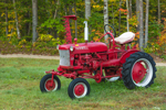 "Antique McCormick Farmall ""Cub"" Tractor, South Tamworth, NH"