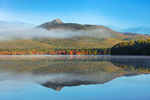 Mount Chocorua Reflecting in Chocorua Lake in Autumn, View from Tamworth, NH