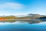 Mount Chocorua Reflecting in Chocorua Lake in Autumn, View from Tamworth, NH