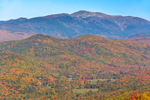 Mt. Washington and White Mountains in Autumn, White Mountain National Forest, View from Jackson, NH