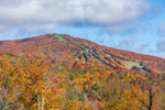 View of Bromley Mountain in Fall, Green Mountain National Forest, Winhall, VT