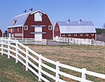 Red Barns and White Fencing, Pineland Farms